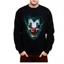 Evil Clown Freakshow Mens Sweatshirt S-3XL