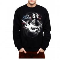 Hendrix Guitar Flag Men Sweatshirt S-3XL New