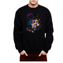 Neon Hendrix Men Sweatshirt S-3XL New