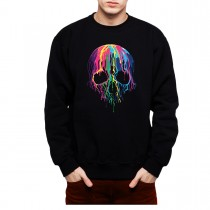 Melting Skull Horror Men Sweatshirt S-3XL New