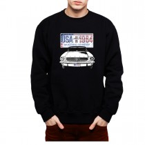 Ford Mustang Country Men Sweatshirt S-3XL New