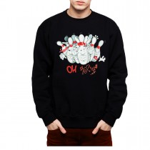 Bowling Funny Men Sweatshirt S-3XL New