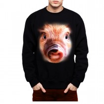 Pig Face Animals Men Sweatshirt S-3XL New