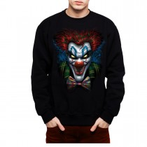 Psycho Clown Funny Men Sweatshirt S-3XL New