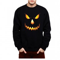 Pumpkin Head Halloween Horror Men Sweatshirt S-3XL New