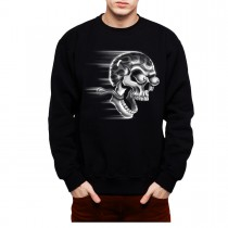 Skull Eyes Eye Balls Funny Men Sweatshirt S-3XL New