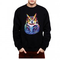 Great Horned Owl Mens Sweatshirt S-3XL