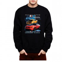 Ford Mustang Boss 302 The Legend Mens Sweatshirt S-3XL