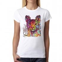 Abyssinian Cat Love Women T-shirt XS-3XL New