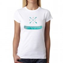 North South West East Canoe Women T-shirt XS-3XL New