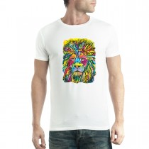 Dean Russo Lion Cubism Animals Men T-shirt XS-5XL New
