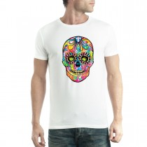 Dean Russo Skull Sugar Men T-shirt XS-5XL New
