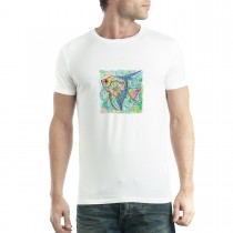 Angelfish Cubism Men T-shirt XS-5XL