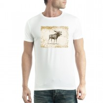 Brown Moose Vintage Men T-shirt XS-5XL New