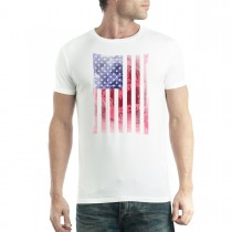 American Flag Skull Men T-shirt XS-5XL New