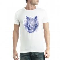 Rhino Mens T-shirt XS-5XL