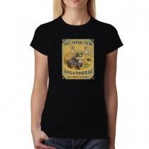 Moose Funny Women T-shirt XS-3XL New