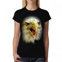 Eagle Face Animals Women T-shirt S-3XL New