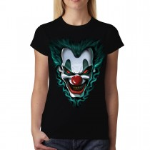 Evil Clown Women T-shirt M-3XL