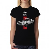 Mustang 50 Years Classic Car Logo Women T-shirt S-3XL New