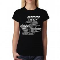 Ford Mustang 50 Years Boss 302 Women T-shirt L-3XL New
