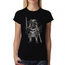 Viking Warrior Sword Womens T-shirt XS-3XL