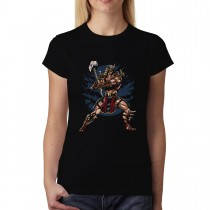 Emperor Warrior Hammer Womens T-shirt XS-3XL