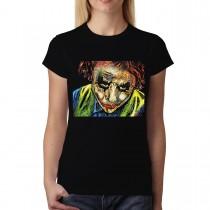Joker Face Clown Women T-shirt S-3XL
