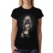 Marilyn Monroe Bandit Tattoos Women T-shirt L-3XL