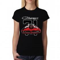 Dodge Charger 71 Women T-shirt M-3XL