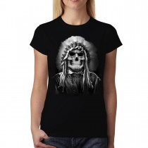 Tribal Chief American Indian Women T-shirt M-3XL New