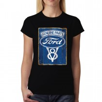 Genuine Ford Parts Sign Women T-shirt XS-3XL