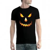 Pumpkin Head Halloween Horror Men T-shirt XS-5XL New