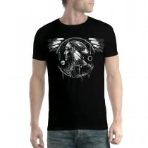 American Indian Hawk Spirit Men T-shirt XL-5XL New