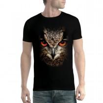 Owl Face Animals Men T-shirt XS-5XL New