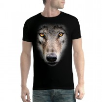 Wolf Face Men T-Shirt XS-5XL