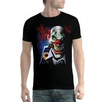 Joker Clown Face Men T-shirt XS-5XL
