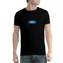Ford Logo Classic Men T-shirt XS-5XL New