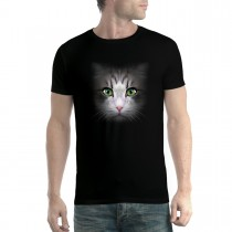 Cat Face Men T-shirt XS-5XL New