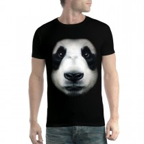 Panda Face Animals Men T-shirt XS-5XL