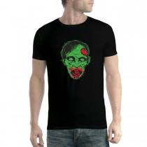 Zombie Face Horror Brain Men T-shirt XS-5XL New