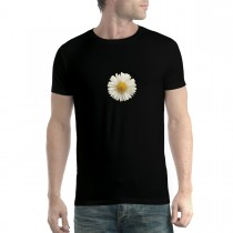 White Daisy 3D Flower Men T-shirt XS-5XL New