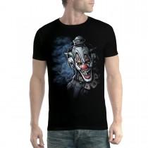 Clown Headphones Funny Men T-shirt XS-5XL New