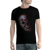 Skull Cracked Horror Men T-shirt XS-5XL