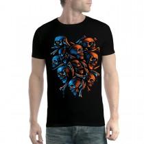 Skeleton Skulls Horror Men T-shirt XS-5XL New