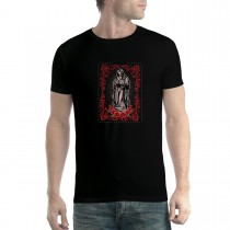 Virgin Mary Rose Jesus Men T-shirt XS-5XL