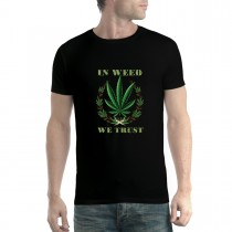 Cannabis Weed Smoke Men T-shirt XS-5XL
