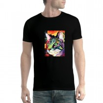 Colourful Cat Men T-shirt XS-5XL New