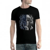 Skull Dead Mystery Woman Men T-shirt XS-5XL New