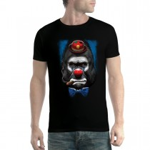 Gorilla Clown Face Funny Men T-shirt XS-5XL New